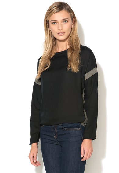 Big Star Bluza negru cu gri Nimare
