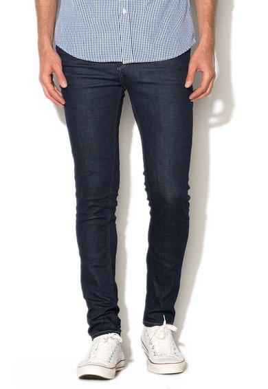 FashionDays.ro: Jeansi albastru inchis cu croiala dreapta Selected Homme