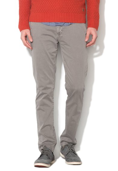 New Zealand Auckland Pantaloni conici gri Napier