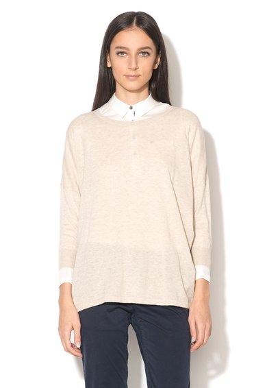 Пуловер меланж