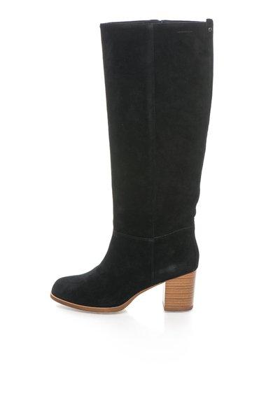 FashionDays.ro: Cizme negre de piele intoarsa Anna Vagabond Shoemakers