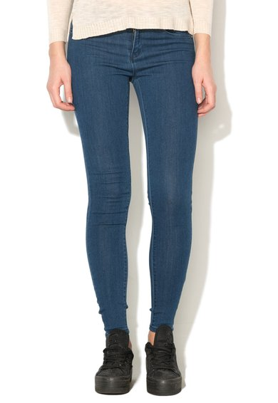 Only Jeansi skinny regular fit albastri Rain