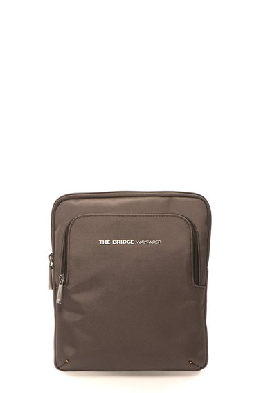 Geanta crossbody maro fango Authentic de la The Bridge Wayfarer