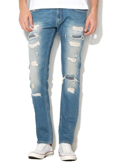 Diesel Jeansi skinny slim fit albastri Thavar