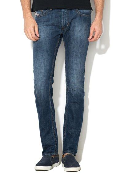 Diesel Jeansi slim fit skinny albastru inchis Thavar