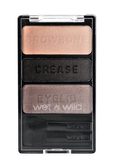 Fard de pleoape ColorIcon Silent Treatment Trio de la WET N WILD