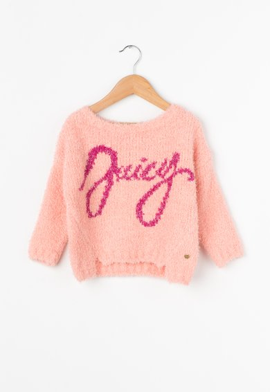 Juicy Couture Pulover roz pal pufos