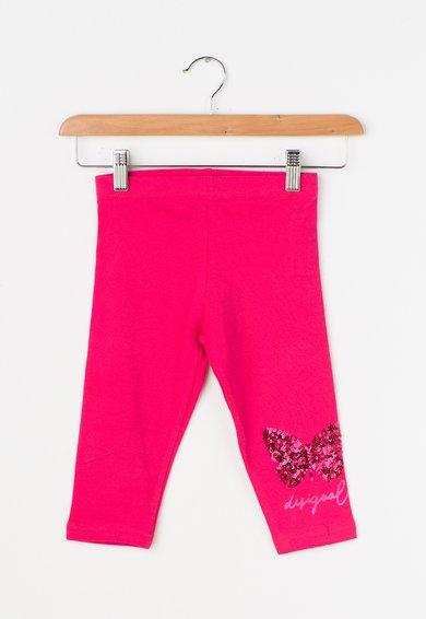 Desigual Colanti roz bombon cu paiete Araza