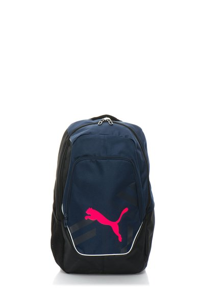 FashionDays.ro: Rucsac bleumarin cu negru si logo roz neon Evopower Puma
