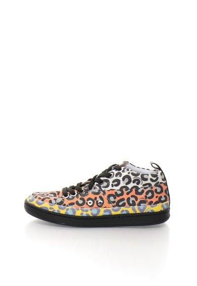 FashionDays.ro: Tenisi mid-high multicolori Love Moschino