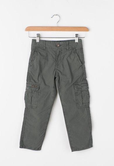Pantaloni cargo verde feriga Moto de la Napapijri