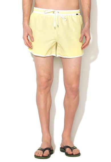 Pantaloni scurti de baie galben aprins Short Mix de la Skiny