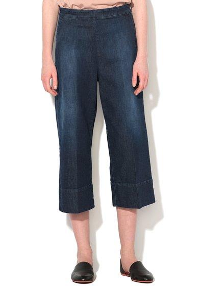 FashionDays.ro: Pantaloni din denim albastru inchis cu croiala ampla Laguna Pennyblack
