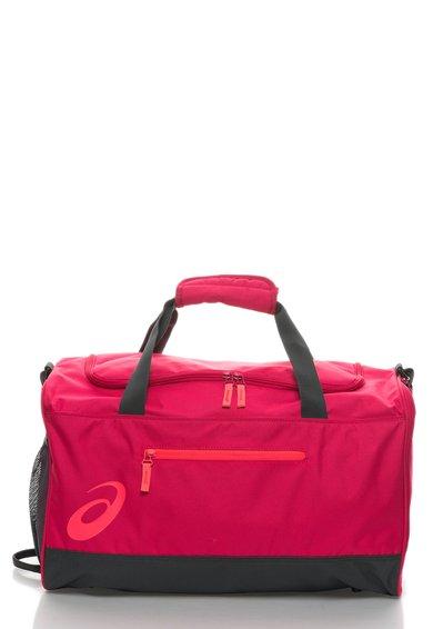 Geanta sport roz aprins cu gri inchis Core Holdall