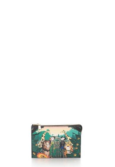 Geanta mica multicolora cu imprimeu de la Love Moschino