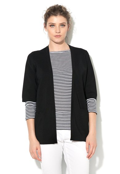 United Colors Of Benetton Cardigan negru fara inchidere Femei image_1