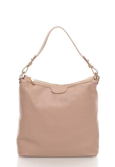 FashionDays.ro: Geanta hobo roz prafuit de piele Zee Lane Collection