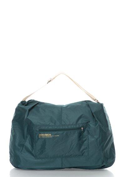 FashionDays.ro: Geanta verde inchis din material textil Bensimon