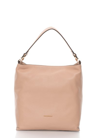 FashionDays.ro: Geanta hobo roz prafuit de piele Arlettis COCCINELLE