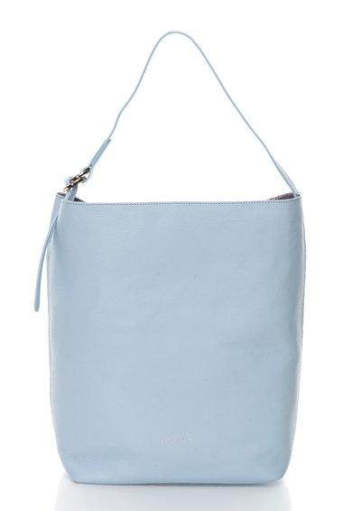 FashionDays.ro: Geanta hobo albastru azur de piele Davon COCCINELLE