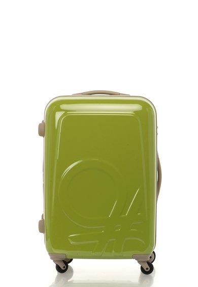FashionDays.ro: Geanta de voiaj rigida verde United Colors Of Benetton