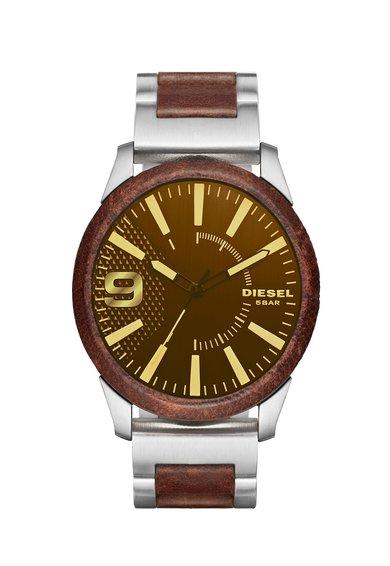 FashionDays.ro: Ceas in nuante de maro cu argintiu RASP Diesel