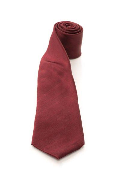 FashionDays.ro: Cravata rosu Bordeaux de matase cu dungi Vincenzo Boretti