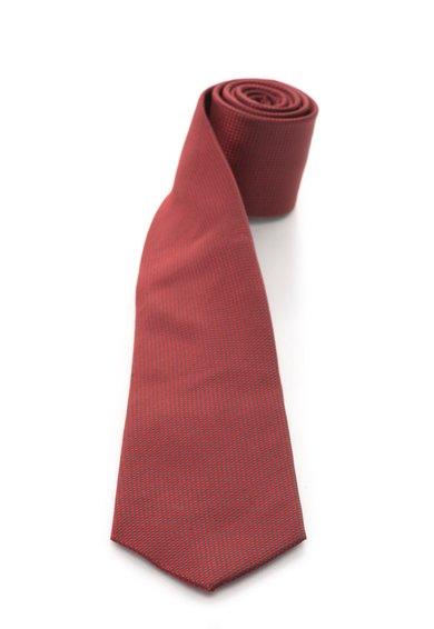 FashionDays.ro: Cravata rosu cu gri de matase in carouri Vincenzo Boretti