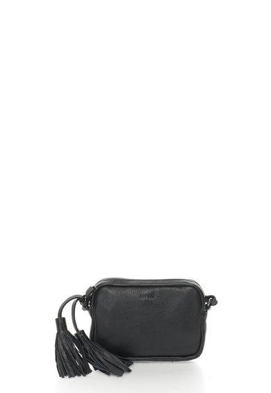 FashionDays.ro: Geanta crossbody mica neagra de piele Mona ESPRIT