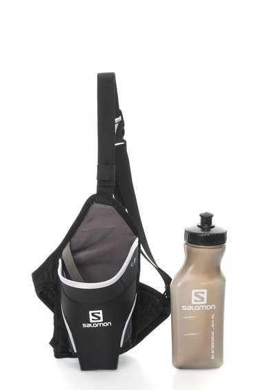 Centura Sport Neagra Cu Sticla Hydro 45